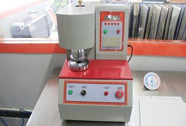 Burst strength testing machine