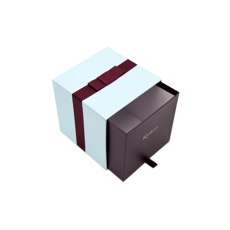 Toy Paper Packaging Box In Drawer Style For Doll