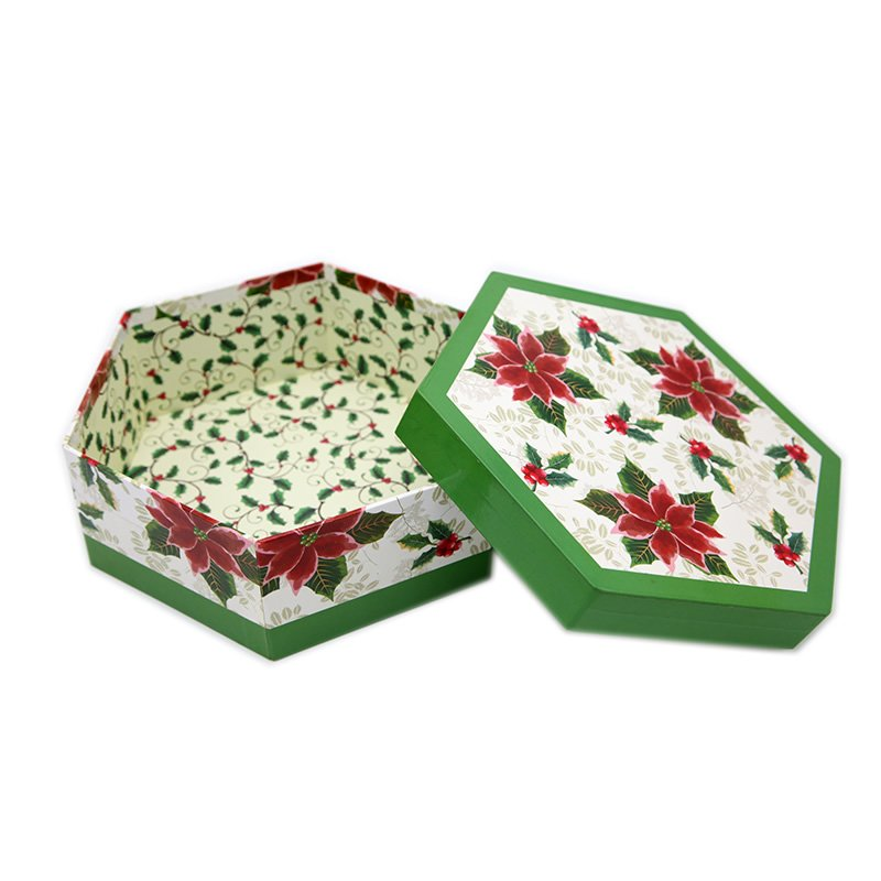 Small Cardboard Gift Paper Boxes with Flower